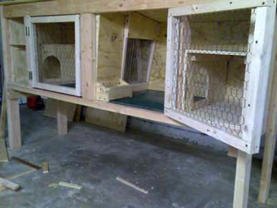 Клетка для взрослых кроликов